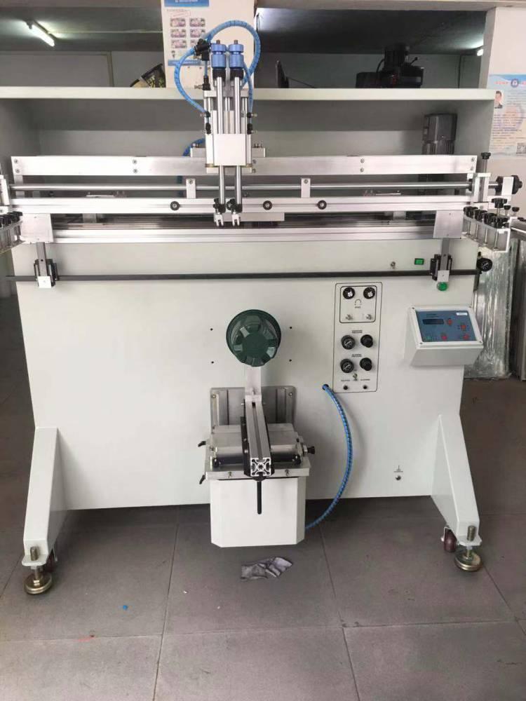淮南化妆品盒子箱子平面丝印机厂家伺服丝印机