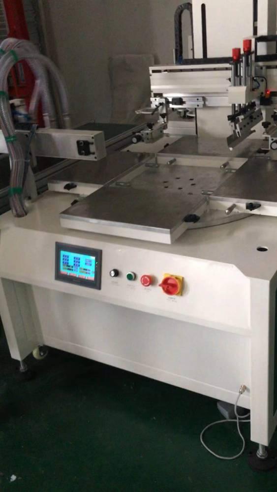 东营加仑花盆平面丝印机厂家伺服丝印机