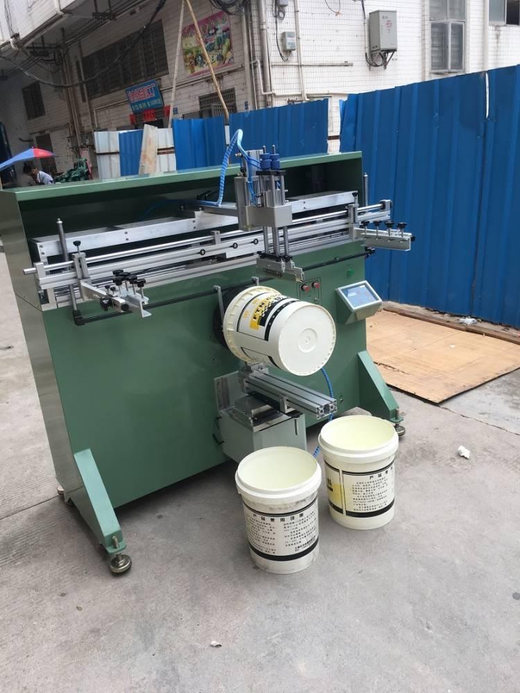 桂林塑料餐盒曲面丝印机厂家伺服丝印机
